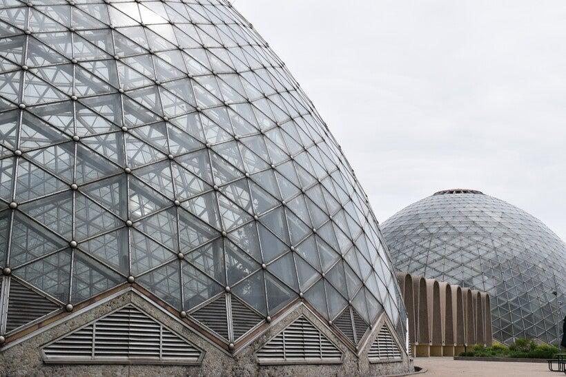 Mitchell Park Conservatory, Milwaukee, Domes