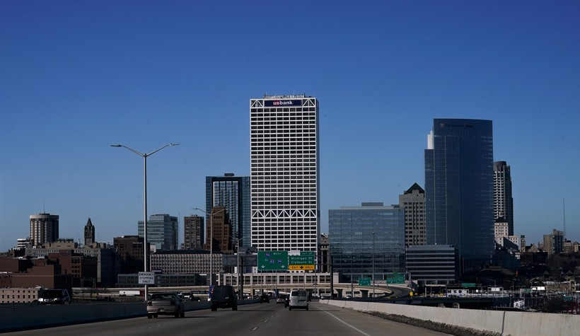 Milwaukee's skyline