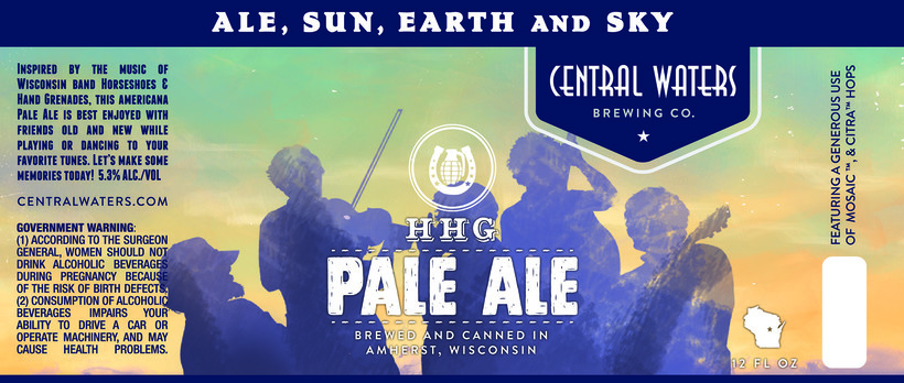 Central Waters Brewing Company's HHG APA