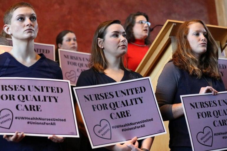 Nurse Courtney Maurer