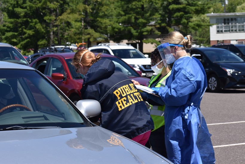 Bayfield County Public Health Conducts Testing With Guard