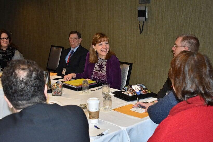 Northern Wisconsin county officials meet with Julie Willems Van Dijk