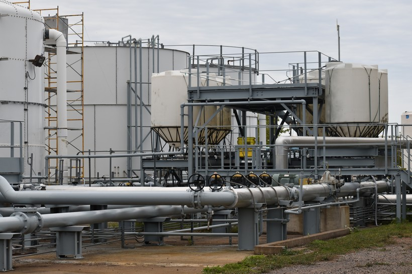 ballast water treatment testing facility