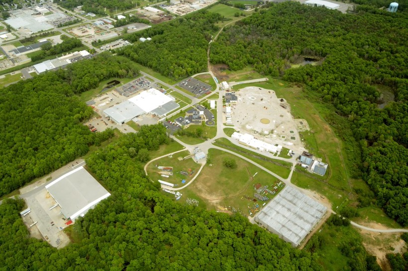 Aerial View Of Tyco's Fire Training Center In Marinette