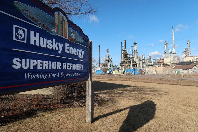 Husky Energy sign