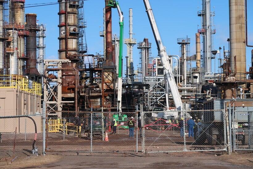 Superior Refinery Rebuild Costs Nearly Double Wisconsin Public Radio