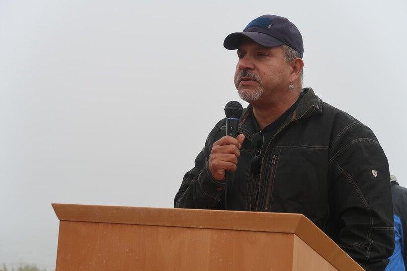 Fond du Lac tribal chariman Kevin Dupuis