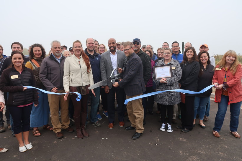 State and local leaders celebrate restoration project