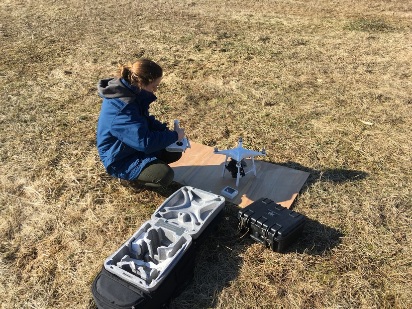 Drone Used To Detect Thin Soils That Leave Groundwater Prone To Contamination