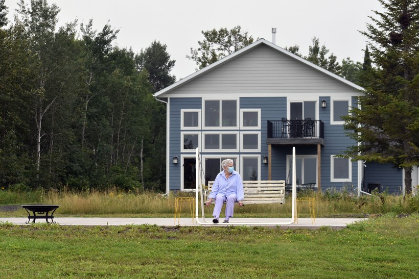 Couple Builds Home Further Back On Lake Superior Property Due To Erosion