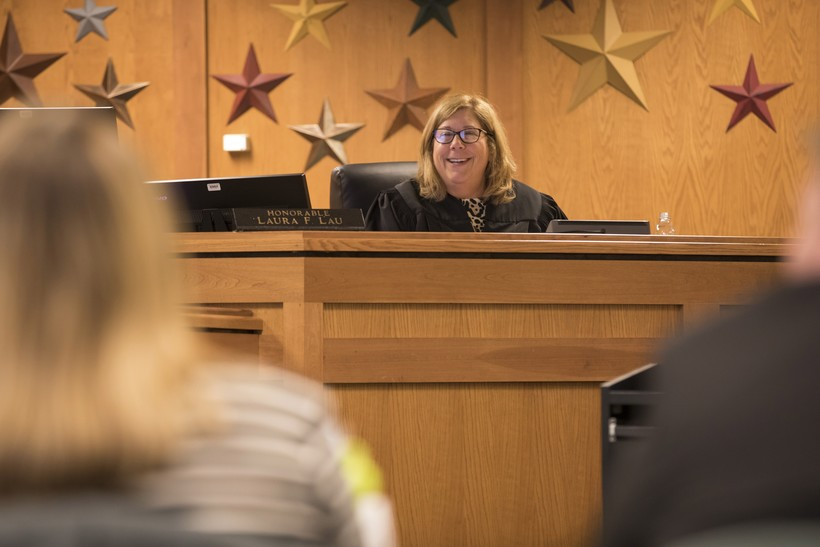 Waukesha County Judge Laura Lau presides over OWI court