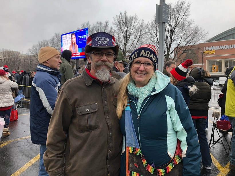 Craig and Donna Minkley from Kenosha County