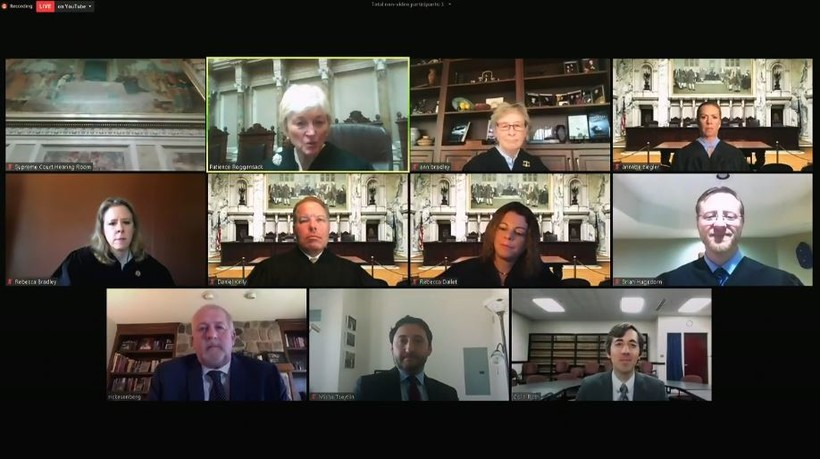 wisconsin supreme court in virtual session
