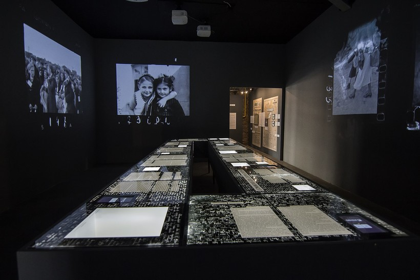 """The Girl in the Diary: Searching for Rywka from the Lodz Ghetto"" exhibit"