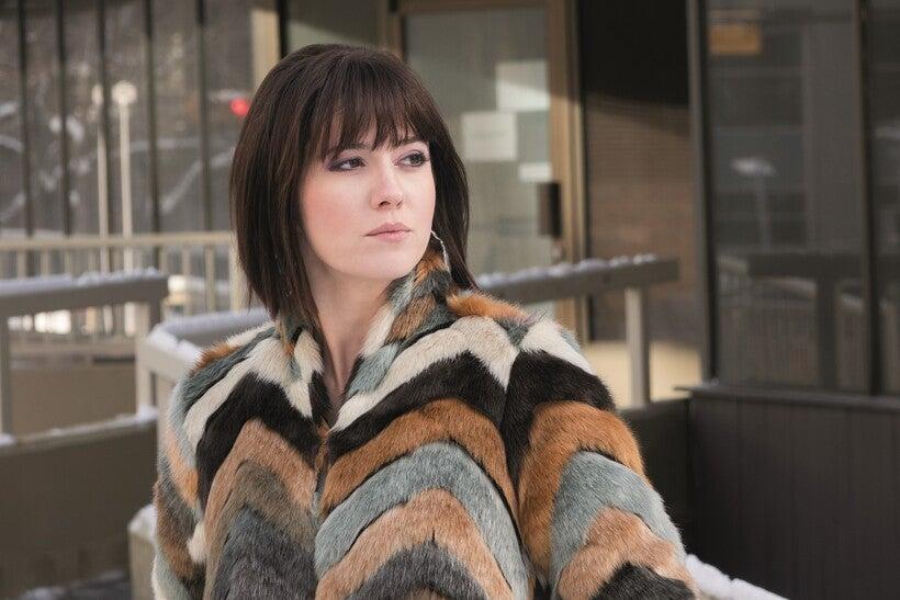 "Mary Elizabeth Winstead as Nikki Swango in Season 1 of ""Fargo."""