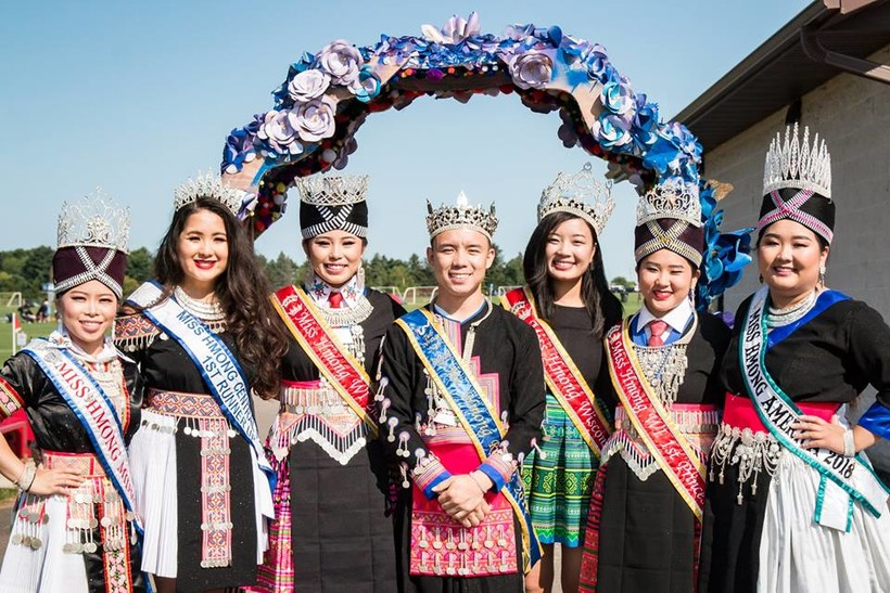 Pageant winners at Hmong Wausau Festival