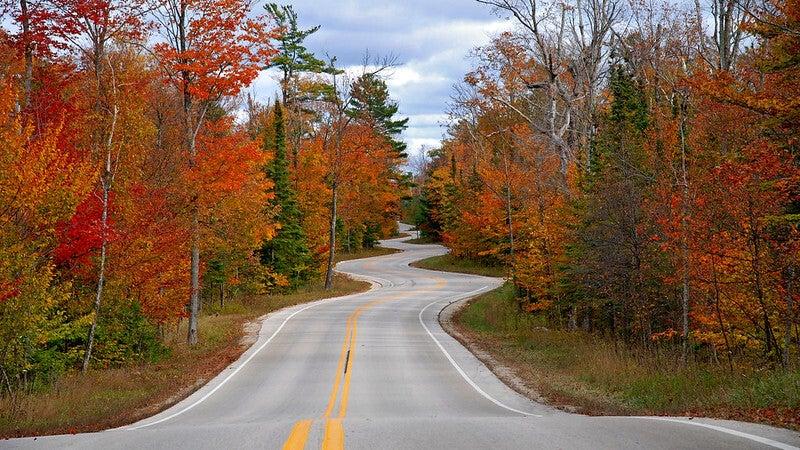 Highway 42 in Door County
