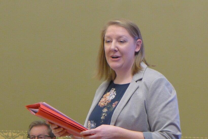 Audrey Humprey, a Racine County parent