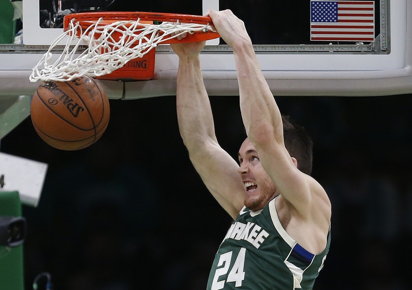 Milwaukee Bucks' Pat Connaughton