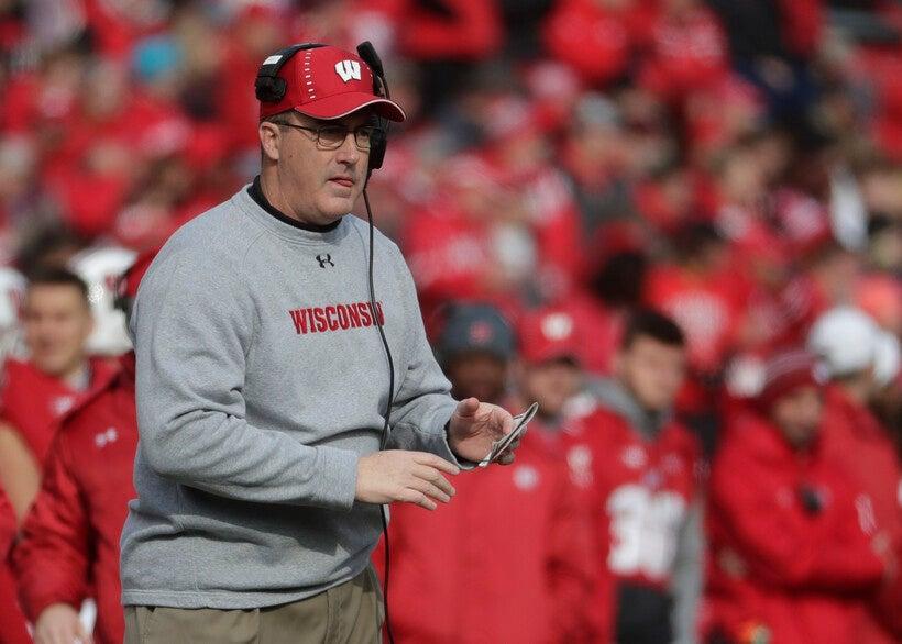 Wisconsin Badgers football coach Paul Chryst