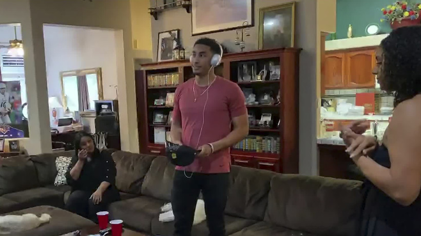Jordan Love learns he's been drafted by the Packers