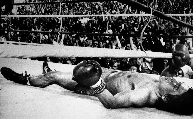 Korean lightweight boxer Duk Koo Kim