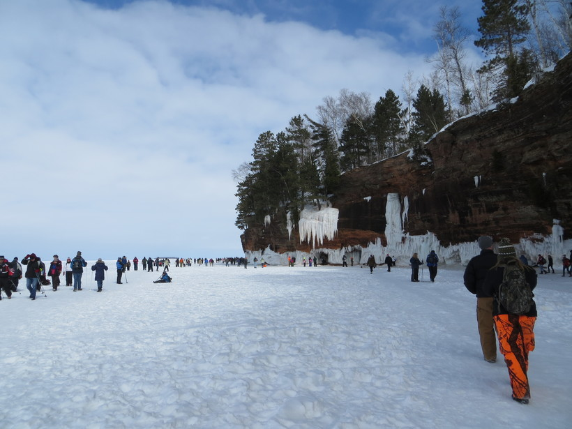 Ice Caves Draws Thousands To Apostle Islands