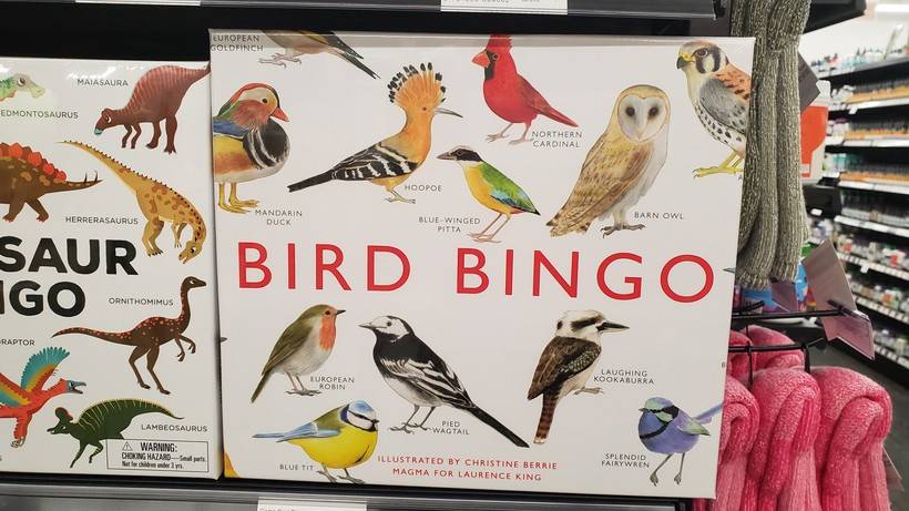 Bird Bingo is an optional gift that will entertain generations