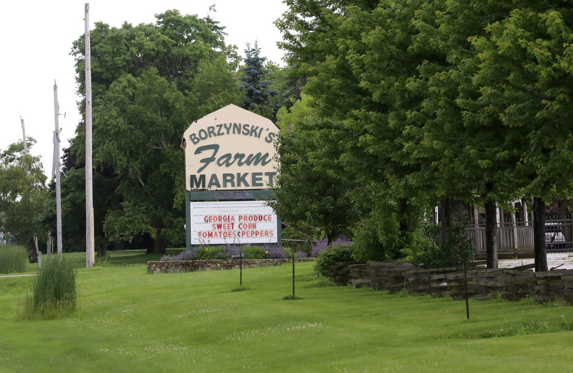 The Borzynski's Farm Market in Mount Pleasant