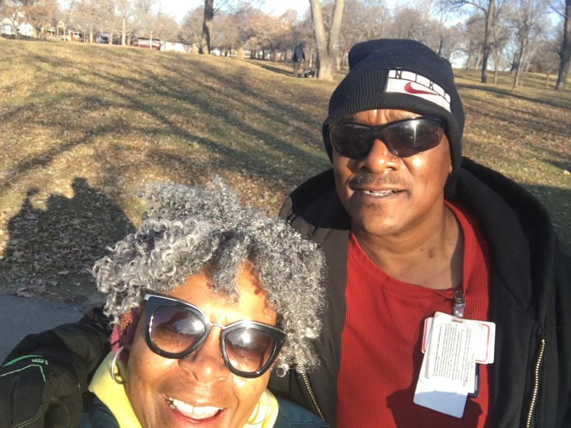 Charles Sheppard and Dorothy McCollum are doing veteran outreach
