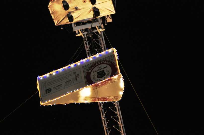 The Big Cheese drop on New Year's Eve in Plymouth.