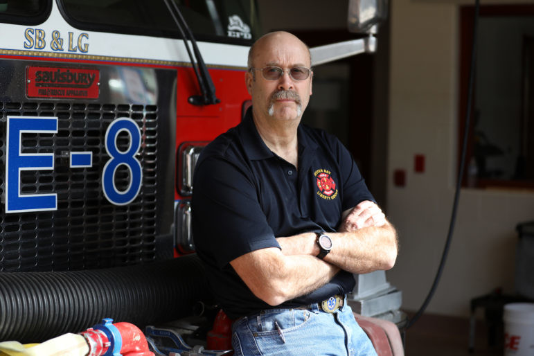Chris Hecht, Sister Bay/Liberty Grove Fire Chief