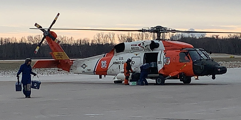 Coast Guard Brings Vaccine To Wisconsin And Michigan For Tribes