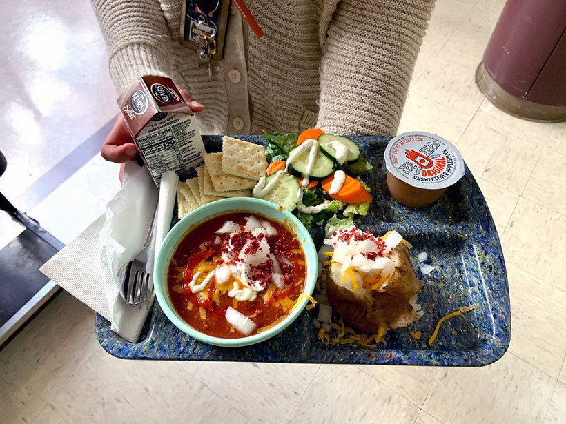 A Wisconsin Chili Lunch prepared at the Drummond Area School District