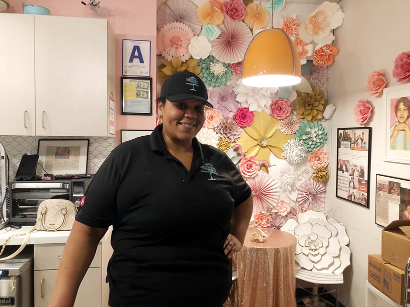 Adija Smith at Confectionately Yours in Sherman Phoenix