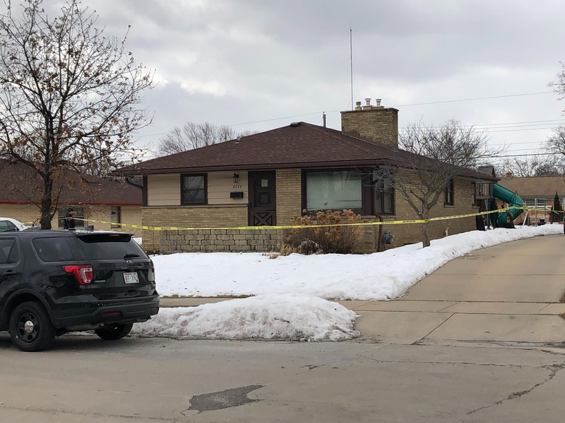 Suspect Anthony Ferrill's home