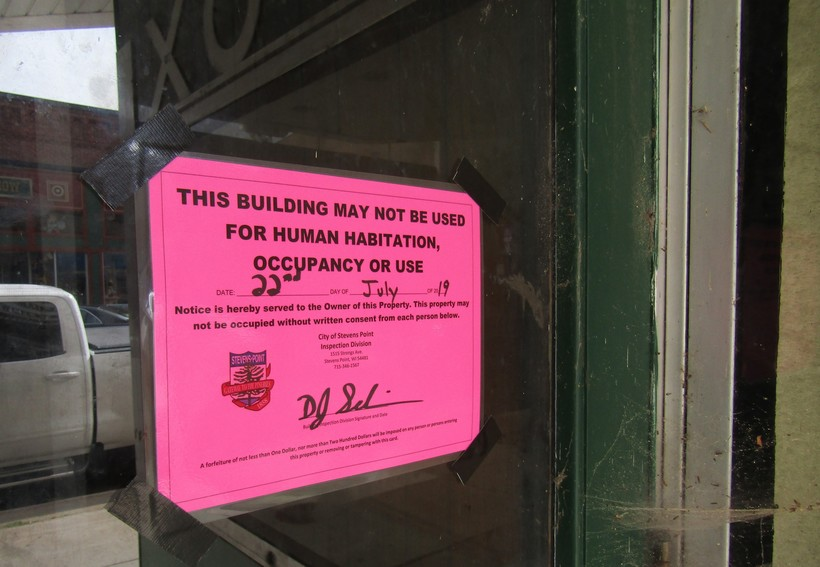 City order declares Stevens Point's Fox Theater unfit