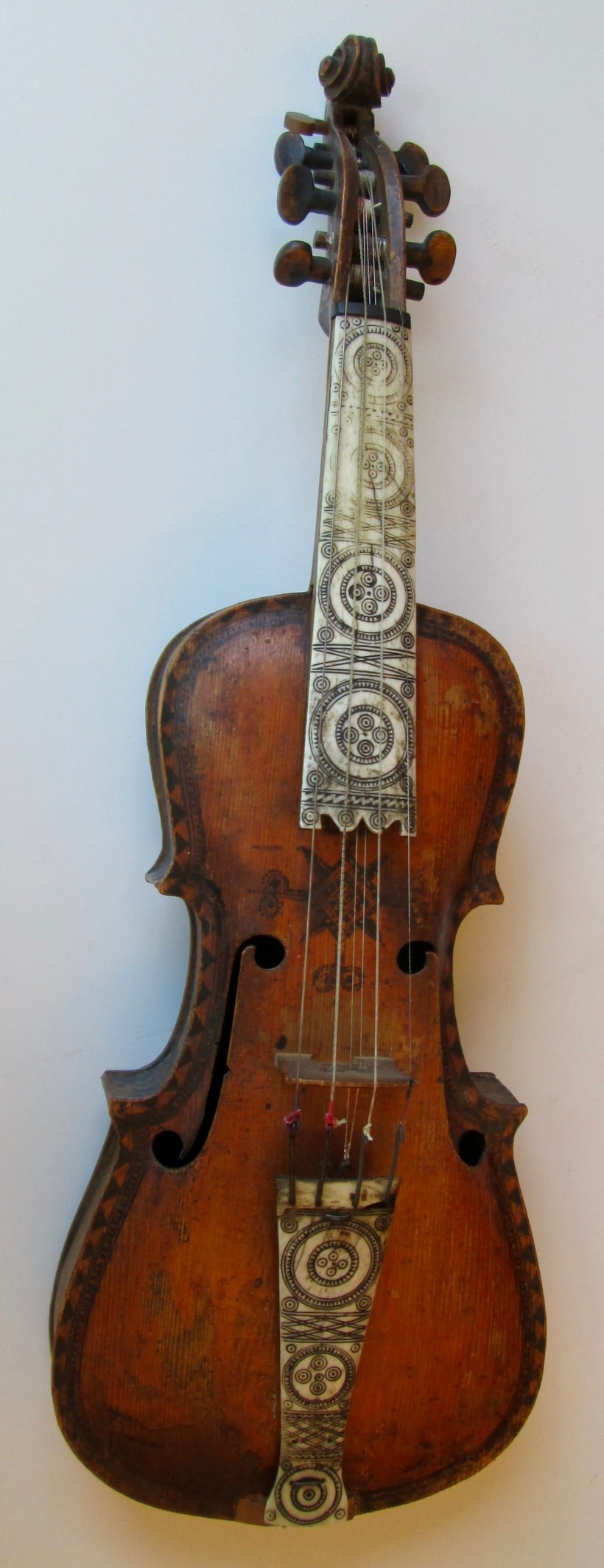 Hardanger Fiddle from the Hardanger Folk Museum collection