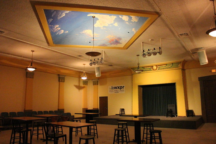 The former Wausau Masonic Temple is now the Whitewater Music Hall