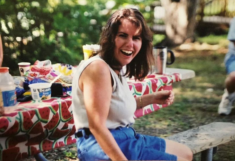 Kelly Kobriger said she likes to remember her mother, Mary Strong, pictured here probably in her 30s, as smiling and full of joy