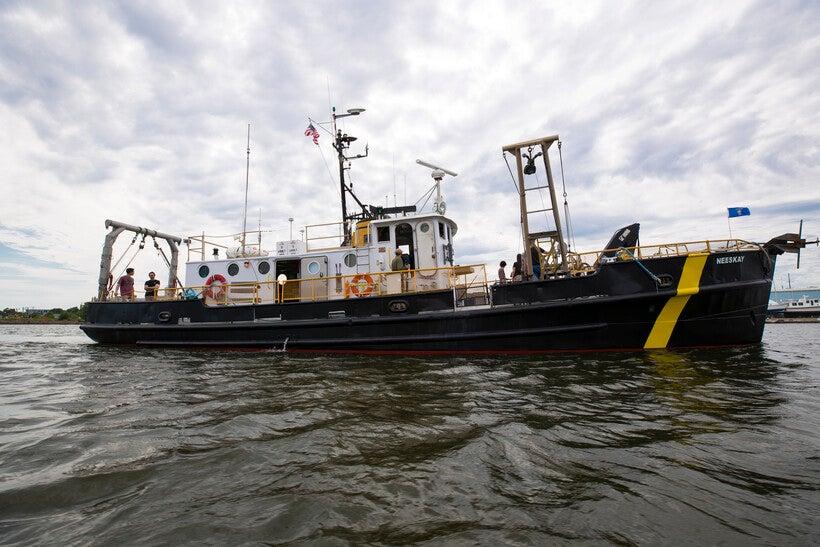 research vessel the Neeskay