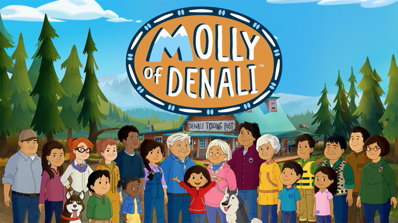 """Molly of Denali."" Photo courtesy of PBS KIDS/WGBH Boston"
