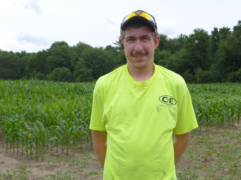 Ben Nestingen at Black River Falls field day