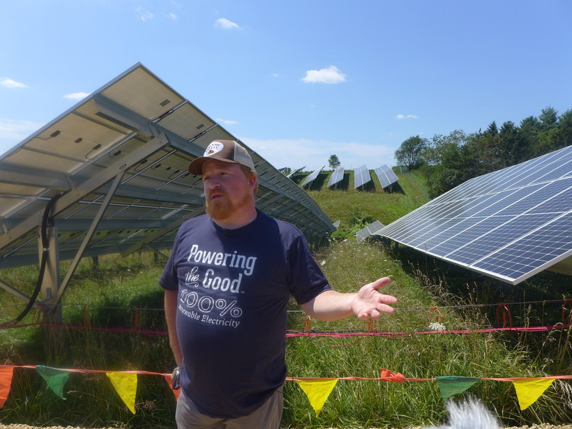 Stanley Minnick Talks About Solar Project
