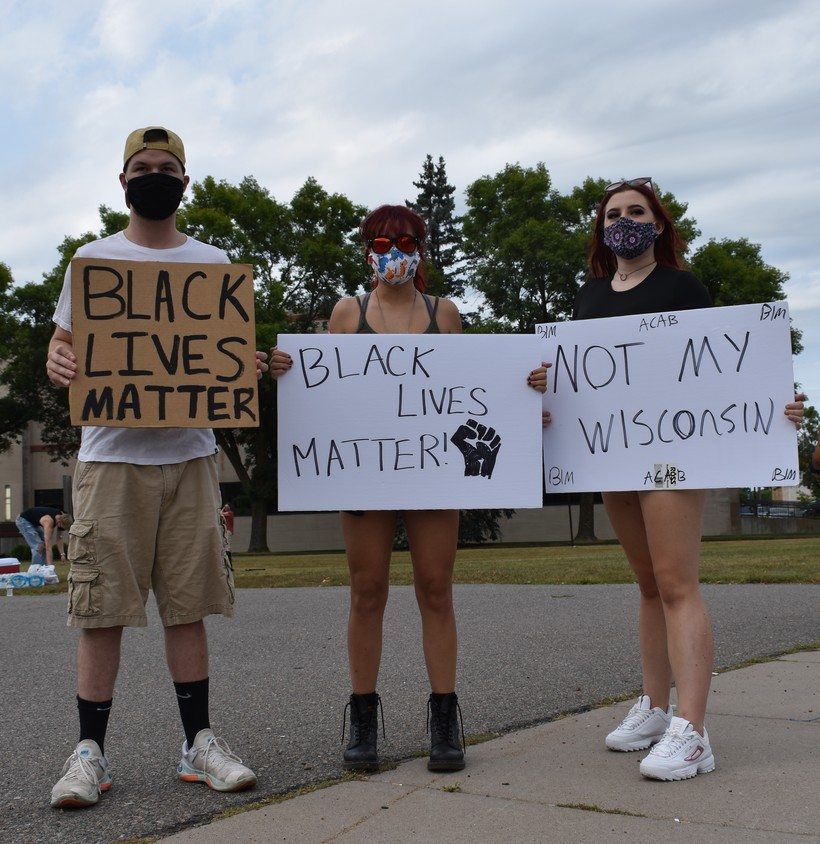 Wausau protest
