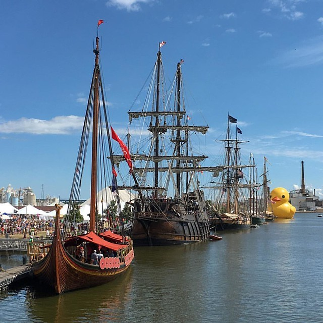 Nicolet Bank Tall Ships Festival