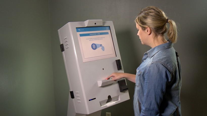 automated breathalyzer kiosks used to monitor blood alcohol levels