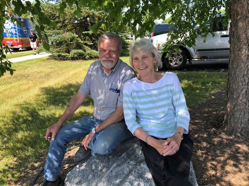 Kathy Olson and Scott Fischer