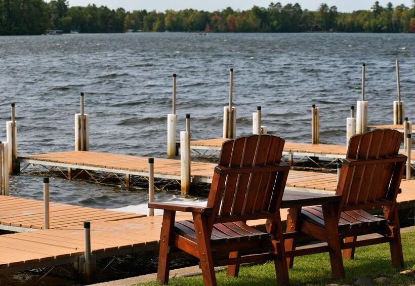 Fall Day On Manitowish Lake