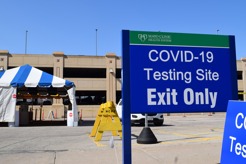 Drive-thru COVID-19 testing is being offered atMayo Clinic Health System-Franciscan Healthcare in La Crosse